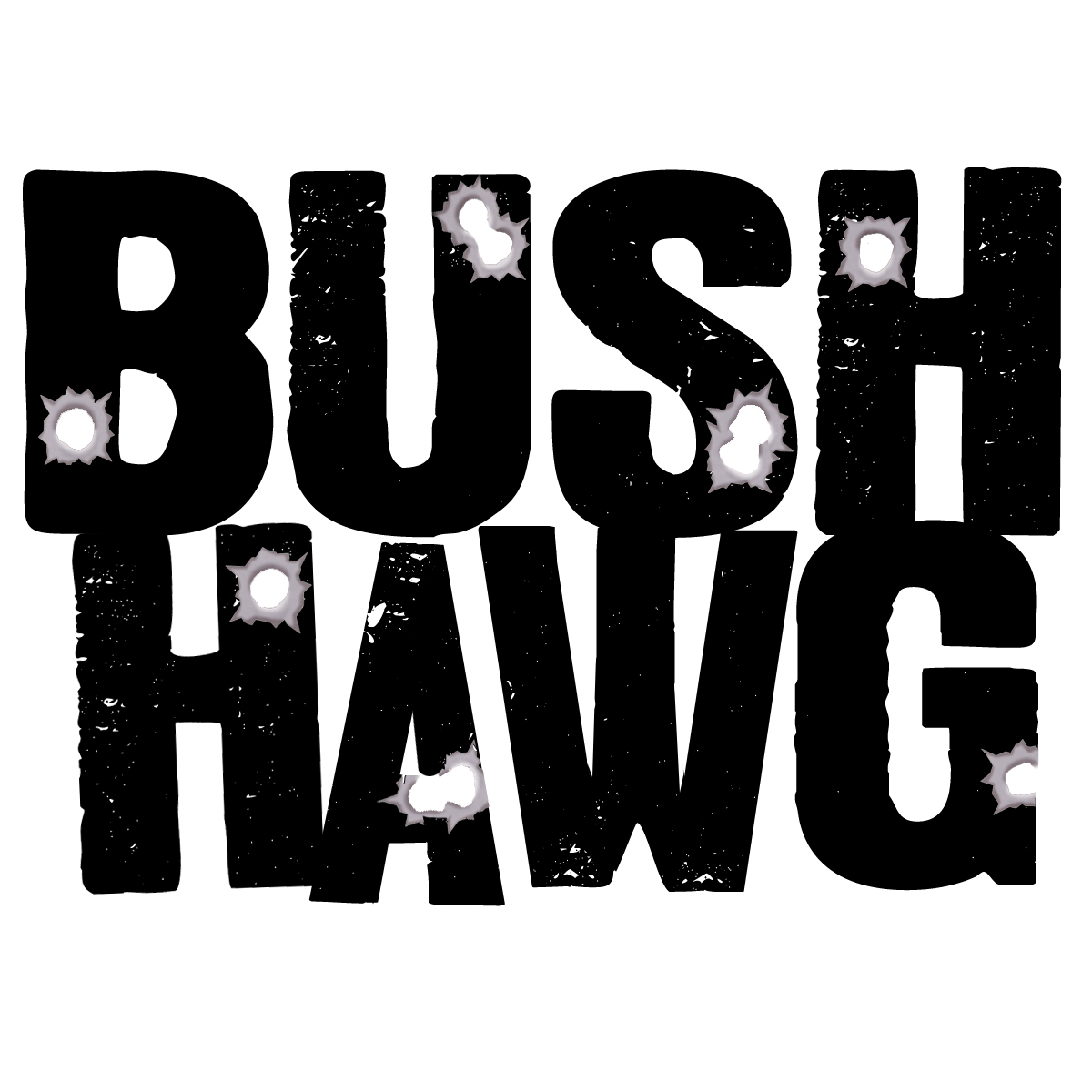 New Bush Hawg logo